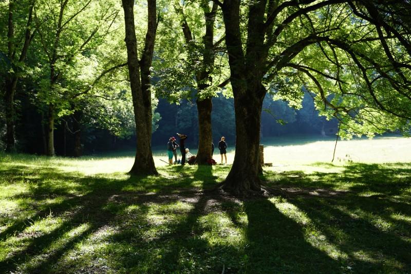 Pireneje, slowandactive, treking z jogą, joga w górach #slowandactive, #slowandactivepl, #aniakopera