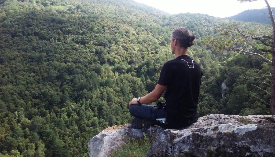 Medytacja w górach, mindful walking, uważność
